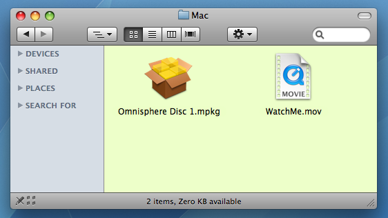 GETTING STARTED - Mac OS-X Installation on the Startup Drive