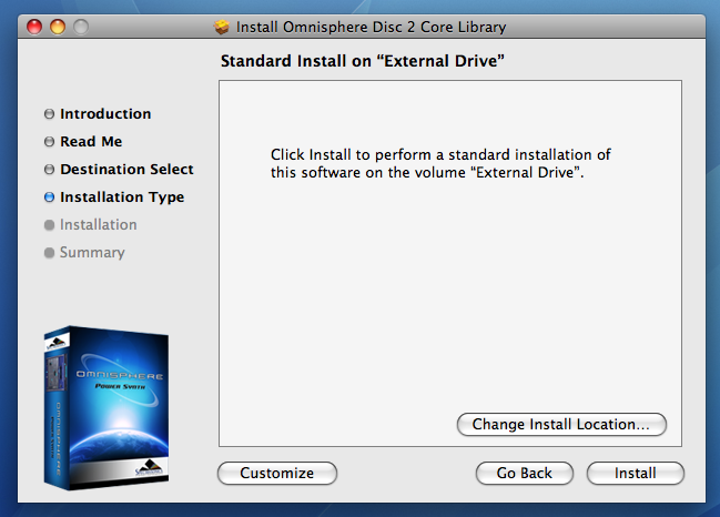 GETTING STARTED - Mac OS-X Installation to an External Drive